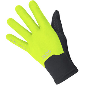 GORE WEAR Windstopper Gloves Unisex black/neon yellow